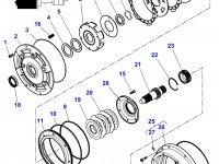 Фрикционный диск мультипликатора КПП трактора Massey Ferguson — 3616741M1