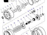 Фрикционный диск мультипликатора КПП трактор Challenger — 3616741M1