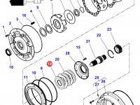 Фрикционный диск мультипликатора КПП трактора Massey Ferguson — 3616745M1