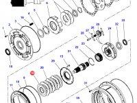 Фрикционный диск мультипликатора КПП трактор Challenger — 3616745M1