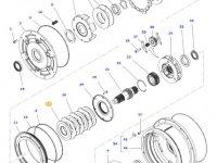 Фрикционный диск мультипликатора КПП трактора Massey Ferguson — 3616745M2