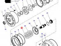 Фрикционный диск мультипликатора КПП трактор Challenger — 3616745M2