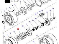 Фрикционный диск мультипликатора КПП трактор Challenger — 3616746M1