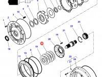 Фрикционный диск мультипликатора КПП трактор Challenger — 3616746M2