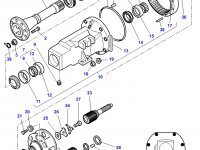 Планетарная (сателлитная) шестерня бортового редуктора заднего моста трактора Challenger — 3618304M4