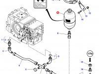 Гидроаккумулятор сухого сцепления трактор Challenger — 3619551M1