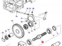 Хвостовик вала отбора мощности (ВОМ) трактора Massey Ferguson — 3712033M2