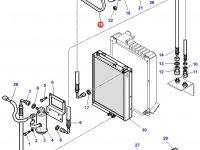 Ремень компрессора кондиционера трактора Challenger (1025 мм) — 3712531M1