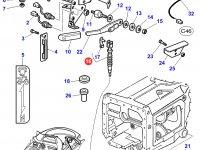 Трос управления ВОМ трактора Massey Ferguson — 3712990M2