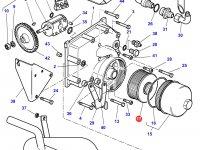 Фильтр крышки гидравлического насоса 150L трактора Challenger — 3714453M1