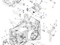 Фильтр гидравлического масла КПП трактора Massey Ferguson» — 3714453M2