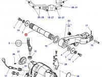 Вал рычагов навески трактора Massey Ferguson — 3715661M2