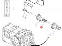 Хвостовик вала отбора мощности (ВОМ) трактора Massey Ferguson — 3716018M2