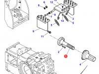 Хвостовик вала отбора мощности (ВОМ) трактора Massey Ferguson — 3716074M2