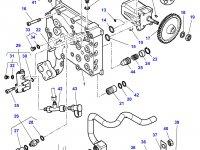 Насос гидравлический трактора Massey Ferguson — 3716370M5