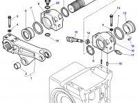 Вал рычагов навески трактора Challenger — 3716538M2