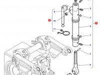 Центральный винт задней навески трактора Challenger — 3716663M2