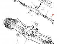 Рулевой наконечник трактора Massey Ferguson — 3764024M1