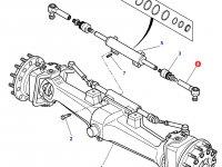 Рулевой наконечник трактора Massey Ferguson — 3764027M2