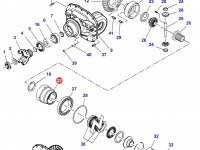 Корпус дифференциала приводного моста трактора Challenger — 3766086M91
