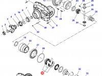 Диск фрикционный дифференциала моста трактора Challenger — 3766091M91
