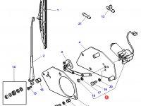Моторчик щетки стеклоочистителя переднего стекла трактора Challenger — 3777698M92