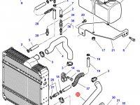 Патрубок охлаждения двигателя трактора Challenger — 3780110M2