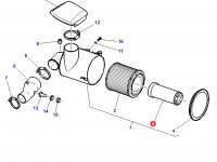 Воздушный фильтр вставка трактора Challenger — 3782387M1