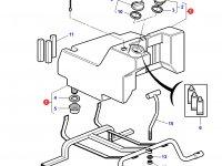 Топливный бак трактора Challenger (160 литров) — 3784111M92