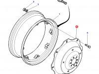 """Вставка заднего колесного диска трактора Massey Ferguson (34"""") — 3785127M1"""