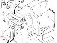 Топливный бак трактора Massey Ferguson (370 литров) — 3786759M97