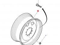 Передний колесный диск трактора Massey Ferguson (W14Lx28, полный привод) — 3787689M2