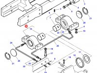 Передний суппорт переднего моста трактора Challenger — 3787717M11