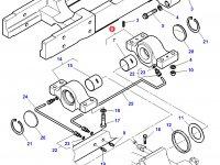 Задний суппорт переднего моста трактора Challenger — 3787719M11
