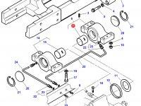 Втулка для суппортов переднего моста трактора Challenger — 3787722M2