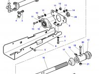 Карданный вал привода переднего моста трактора Challenger — 3787796M3