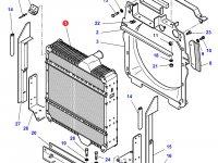 Радиатор двигателя трактора Challenger — 3788381M2