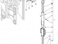 Шарнирная головка/винт раскоса навески трактора Challenger — 3788407M1