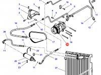 Компрессор кондиционера кабины трактора Challenger — 3789035M1
