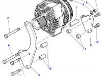 Генератор двигателя трактора Massey Ferguson — 3789453M92