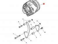 Генератор трактора Challenger — 3789983M91