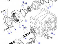 Эпициклическая понижающая передача КПП трактора Massey Ferguson — 3790368M13