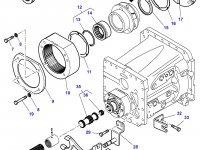 Эпициклическая понижающая передача КПП трактора Challenger — 3790368M13