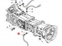 Датчик скорости оборотов ВОМ трактора Massey Ferguson (Длина 75 мм) — 3790881M1