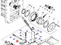 Вилка включения пониженной передачи КПП трактора Massey Ferguson — 3791158M1