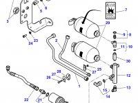 Гидравлический фильтр трактора Massey Ferguson» — 3792287M1