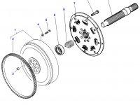 Приводной вал сцепления трактора Challenger — 3792344M1