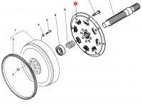 Демпфер крутильных колебаний трактор Challenger — 3792346M1