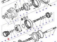 Планетарная (сателлитная) шестерня бортового редуктора заднего моста трактора Challenger — 3792441M1