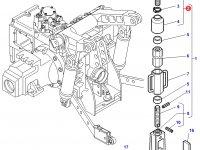 Шарнирная головка/винт раскоса навески трактора Challenger — 3792629M91